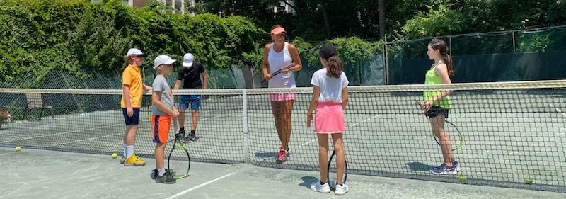 At Riverdale Tennis Center club, all ages and levels will enjoy RTC's private clay courts in NYC