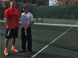 Play on Clay Tennis Courts, the Healthy Way, at Riverdale Tennis Club